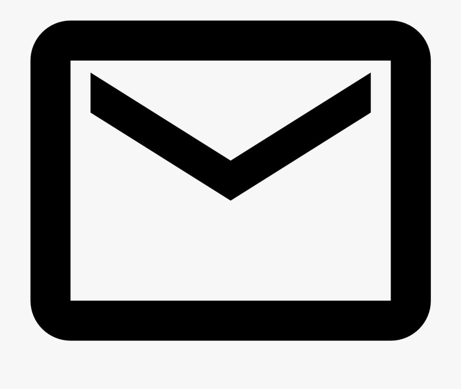 Mail Svg Clipart Black.
