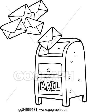 Mail clipart black and white 2 » Clipart Portal.