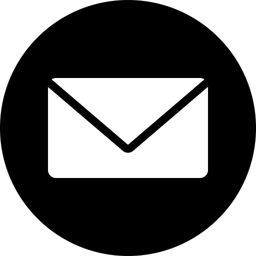 Mail Logo Png White Vector, Clipart, PSD.