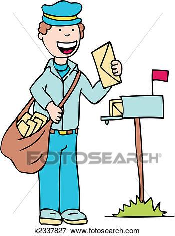 mail man Clip Art.