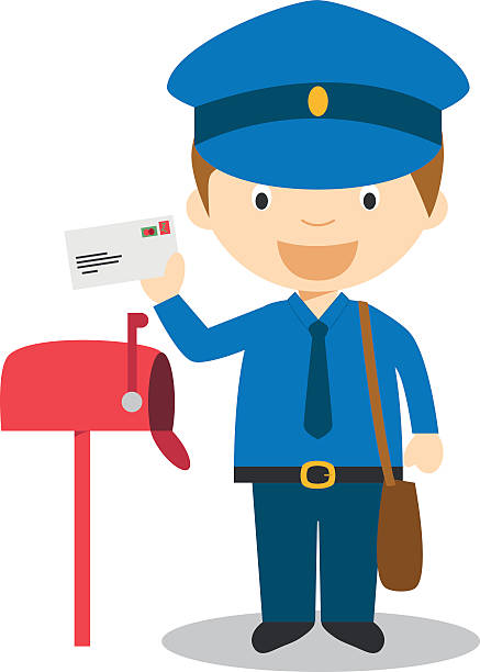 Best Mailman Illustrations, Royalty.