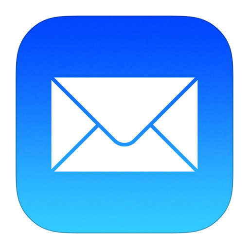 Mail Icon iOS 7 PNG Image.