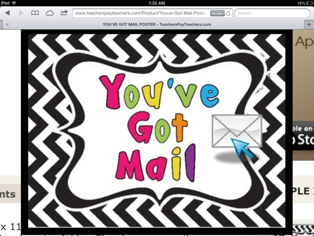 Mail student clipart.