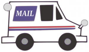 Clipart Mail Truck.