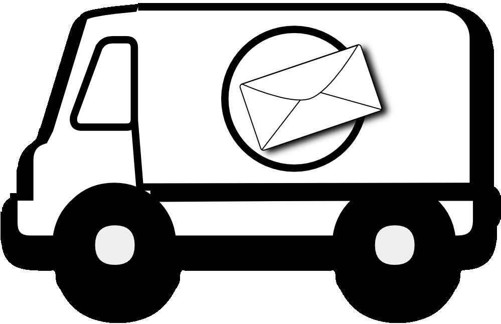 Mail Truck Clip Art.