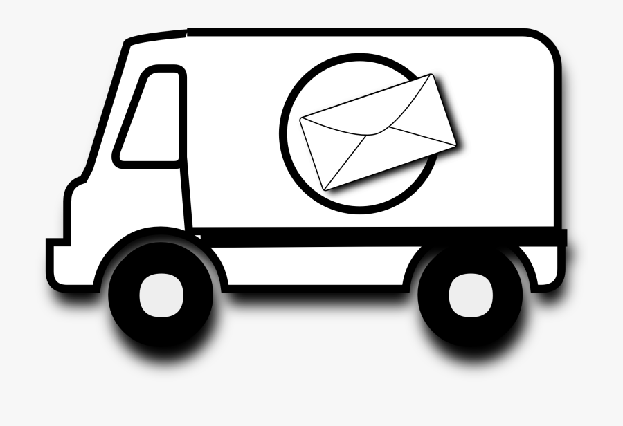 Mail Black And White Clipart.