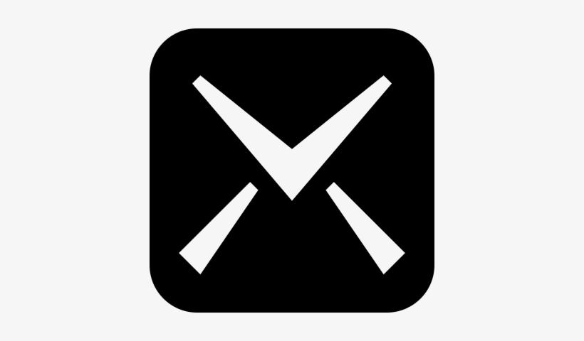 Mail Symbol Of Icomoon Vector.