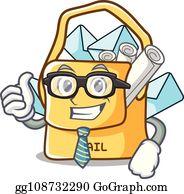 Mailbag Clip Art.