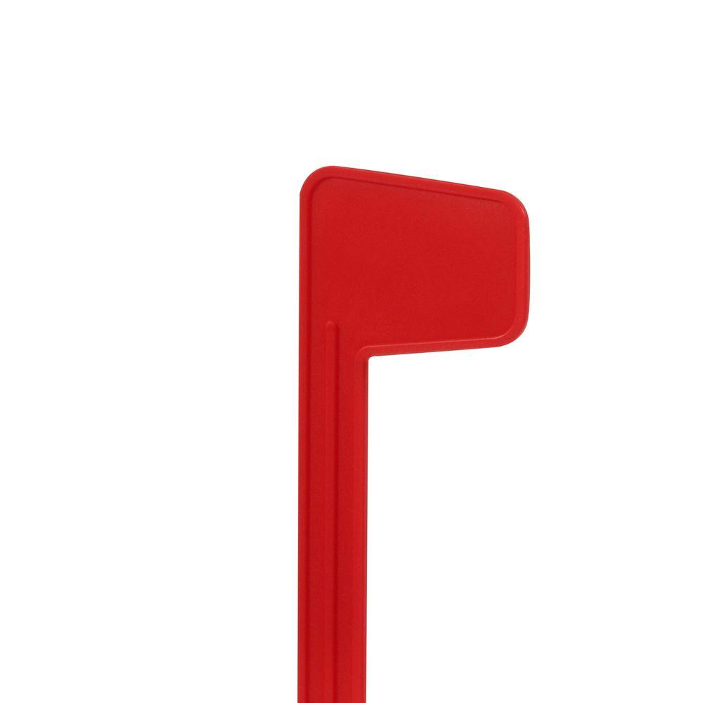 Gibraltar Mailboxes Plastic Replacement Mailbox Flag Kit, Red.