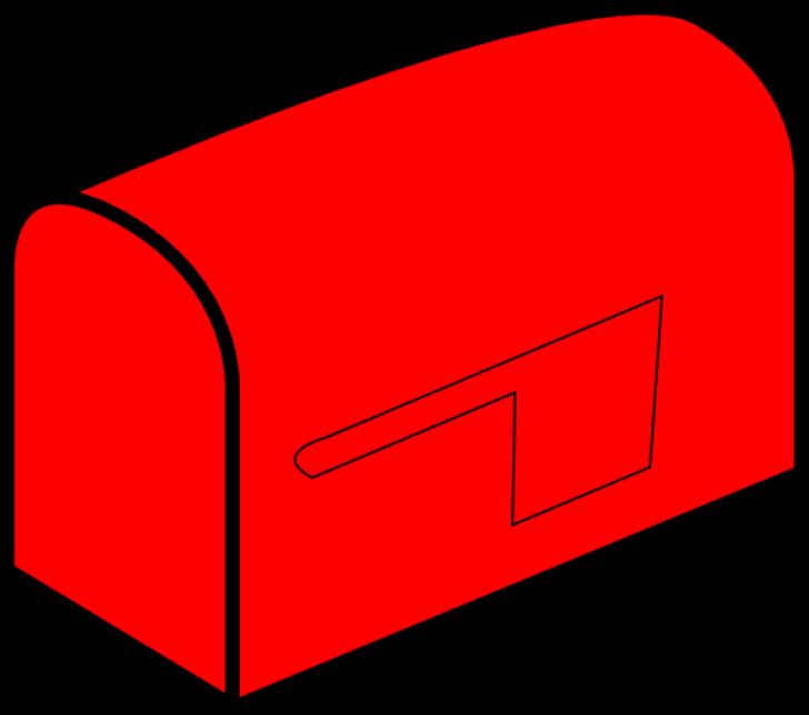 mailbox flag clipart.