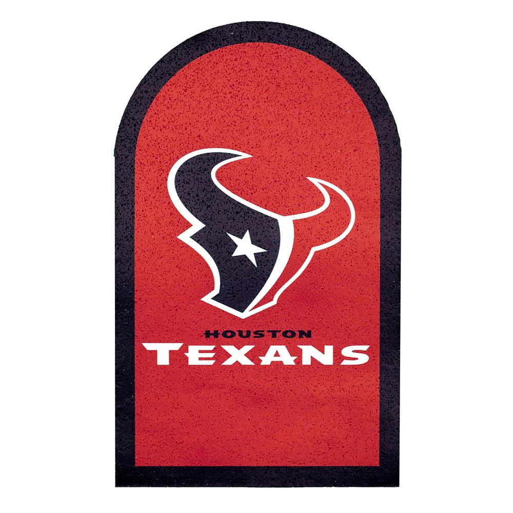 Applied Icon NFL Houston Texans Mailbox Door Logo Graphic.
