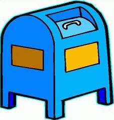 Free Mailbox Clipart.
