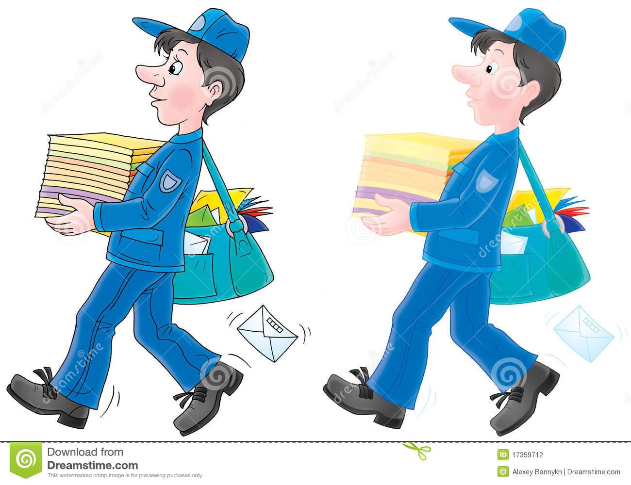 Mailer Stock Illustrations.