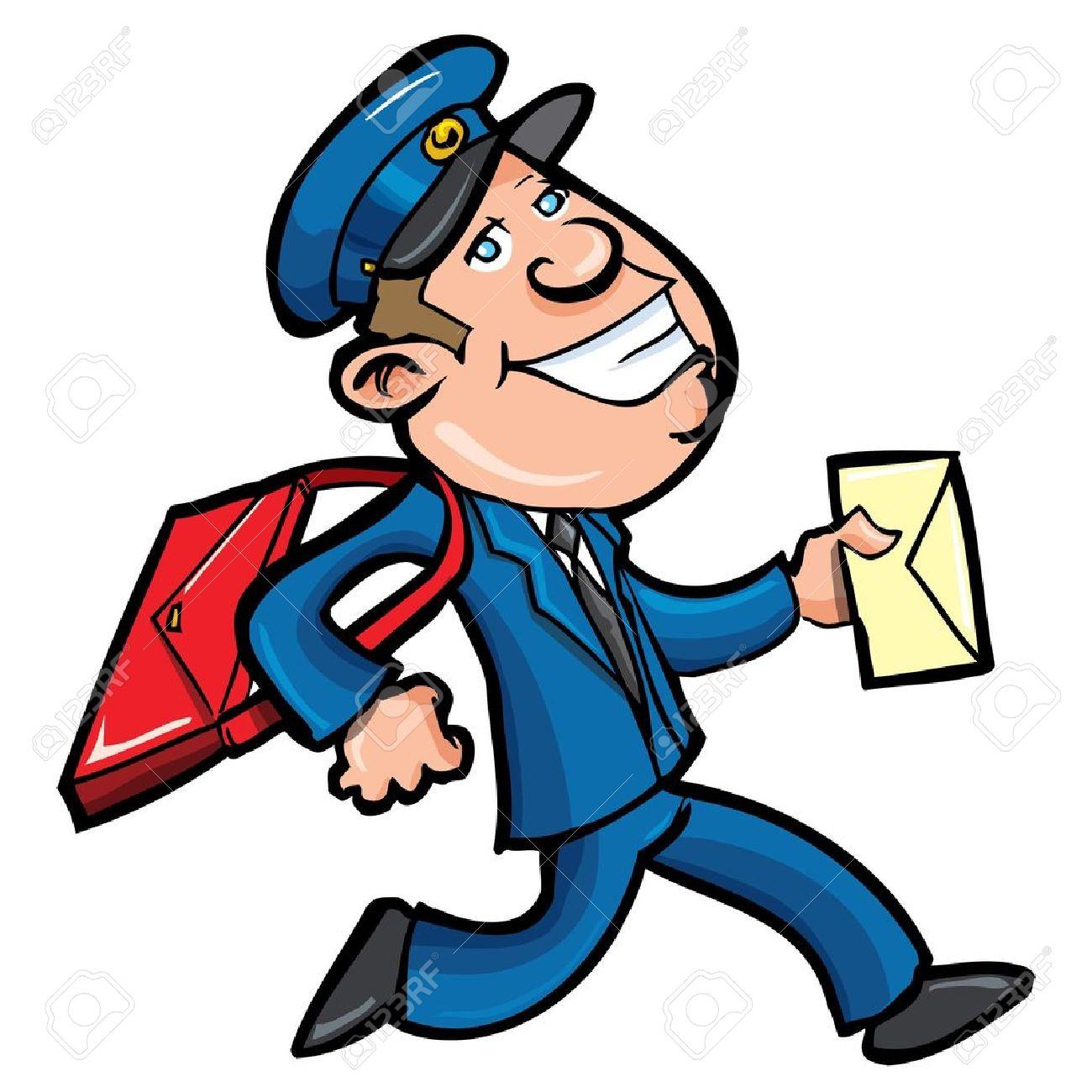 Mail Man Clipart.