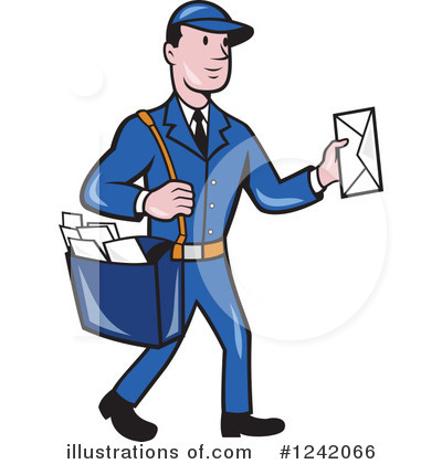 Mailman Clipart #1242066.