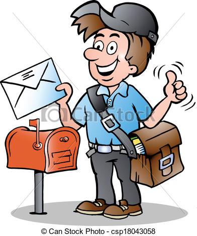 Mailman Clipart & Mailman Clip Art Images.