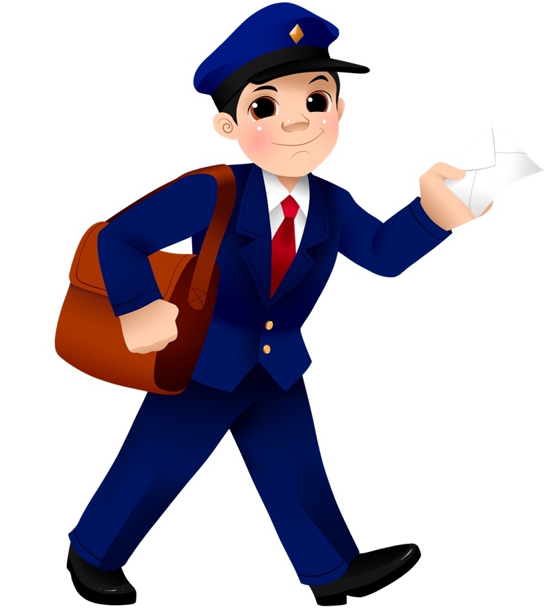 Free to Use & Public Domain Mailman Clip Art.