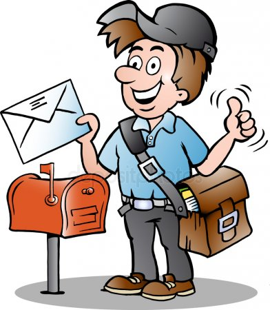 Mailman clipart Stock Vectors, Royalty Free Mailman clipart.