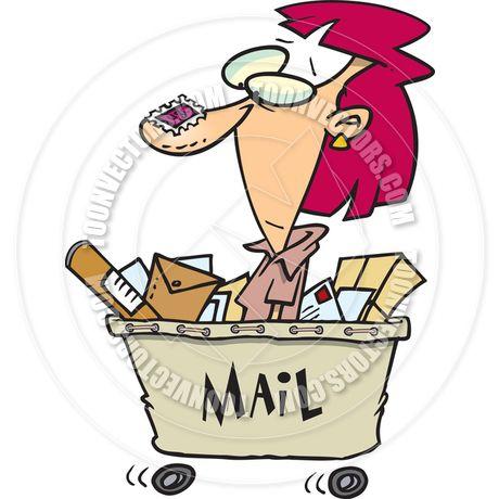 mailroom cartoon.