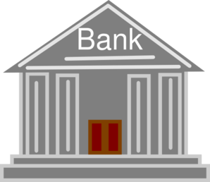 Bank Icon Clip Art at Clker.com.