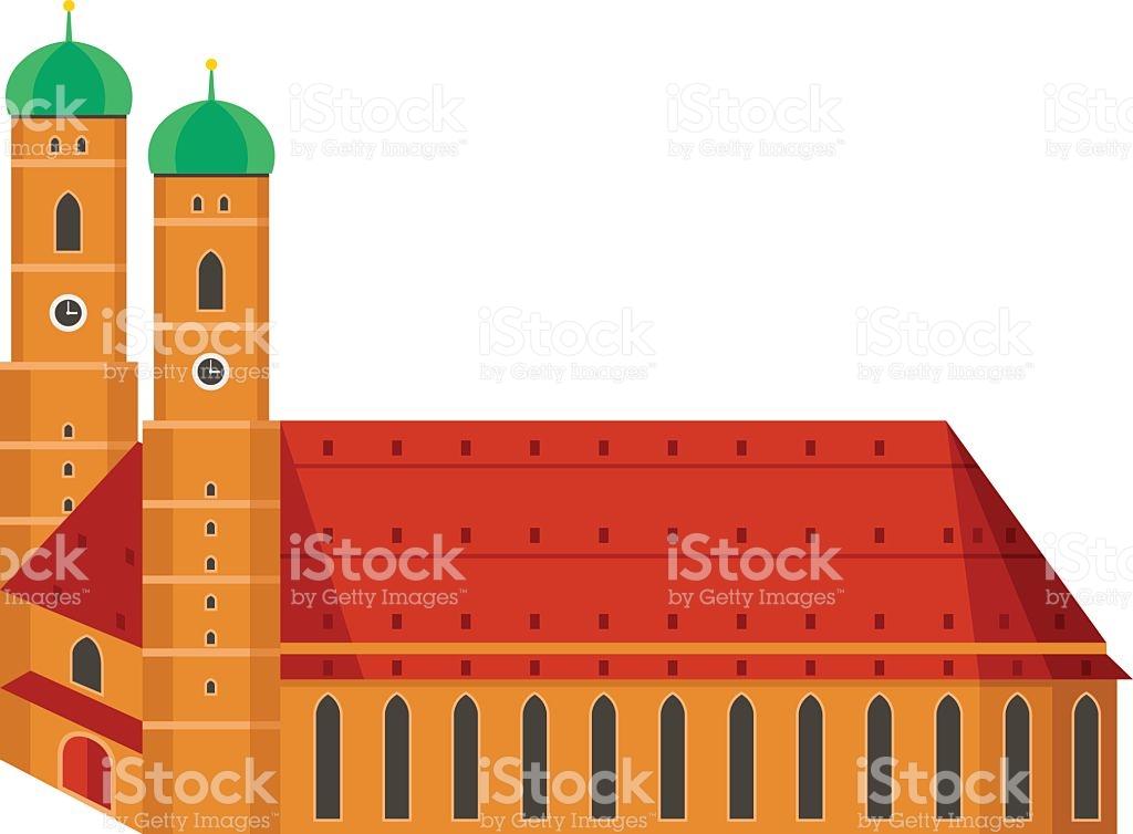 Munich Cathedral And Main Church Frauenkirche In Munich Bavaria.