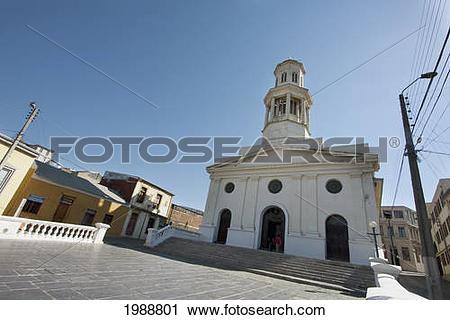 Stock Photography of Iglesia De La Matriz (Main Church.
