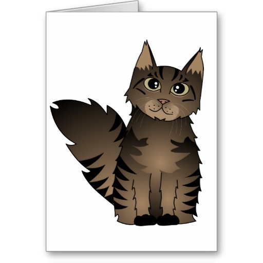 Cartoon Tabby Cat.