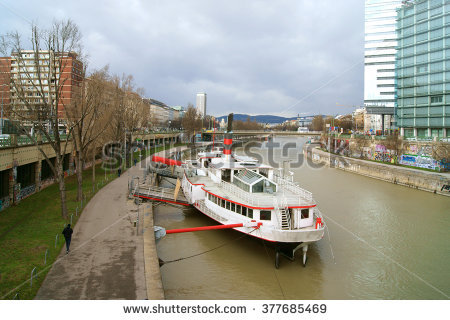 Danube Canal Stock Photos, Royalty.