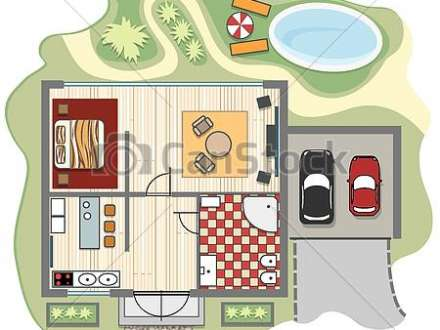 of 4 bedroom house It shows the main floor and the second floor.