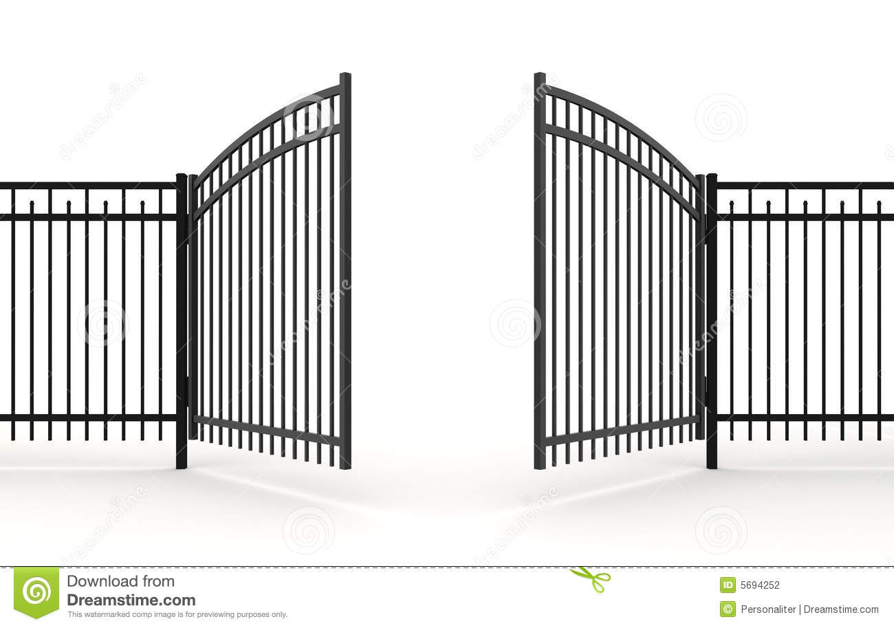 Metal gate clipart clipground