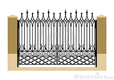 Gate clipart images.