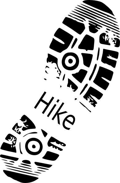 Main hiking trail clipart - Clipground