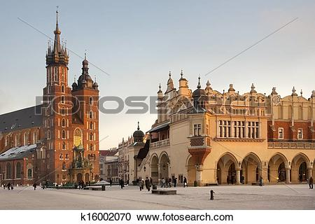 Stock Photography of Main Market Square.