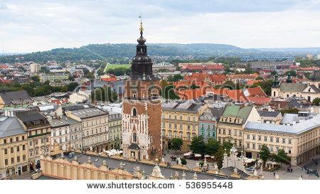 Krakow Stock Photos, Royalty.