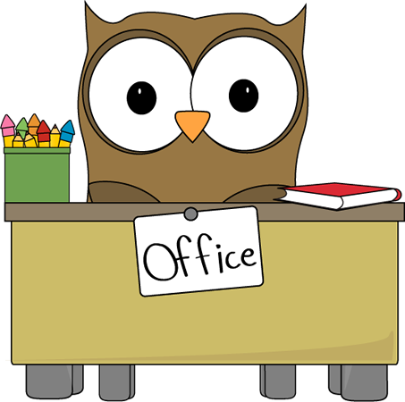 School Main Office Clipart.