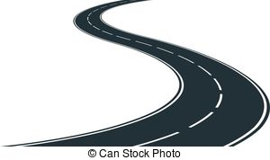 Road track clipart.
