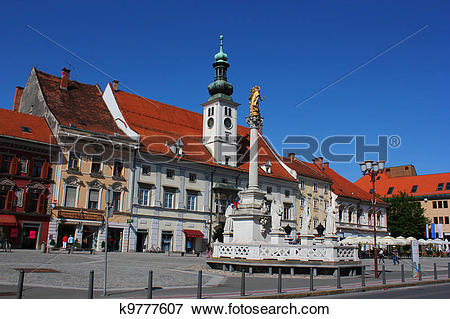 Picture of Maribor town main square k9777607.
