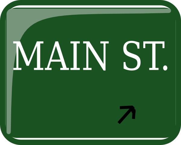 Main Street Exit Clip Art at Clker.com.