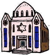 Judaism Synagogue Clip Art.