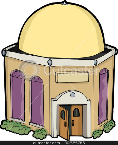 Synagogue clipart.