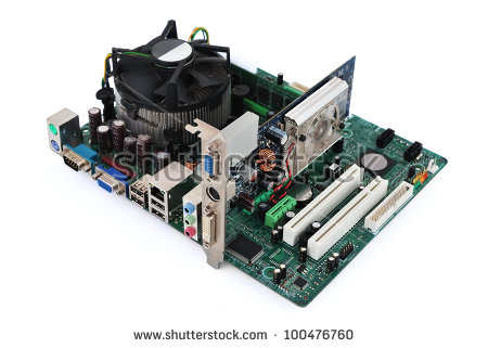 Vacuum Tube Amplifier Circuit Board Stock Photo 16725349.