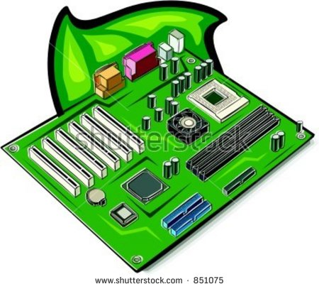 Mainboard Check My Portfolio Many More Stock Vector 851075.