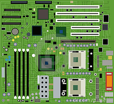 Motherboard clipart.