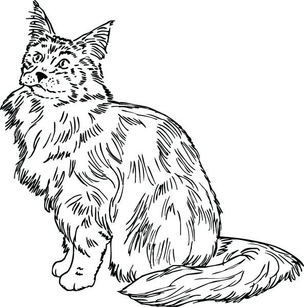 Cat & Kitten Clip Art For Custom Engraved Award Plaques.