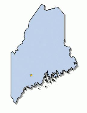 Maine Outline Clip Art.