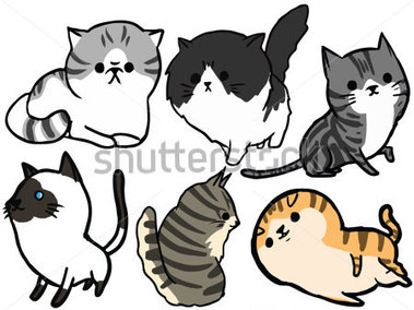 Gallery For > Maine Coon Cat Clipart.