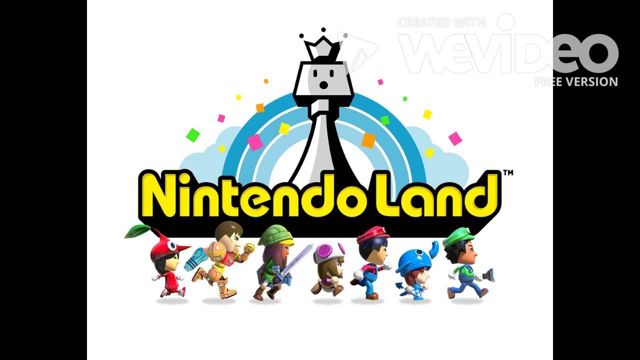 Nintendo Land Main Plaza Remix Day and Day 8 Bit.