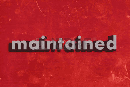 Maintained clipart #11