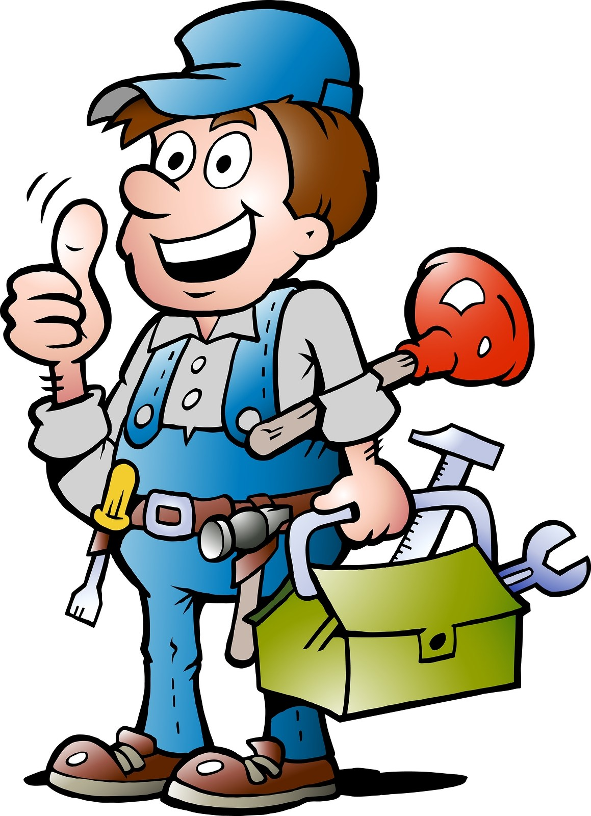 Maintenance man clipart 6 » Clipart Portal.