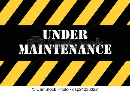 Maintenance sign Stock Illustrations. 54,708 Maintenance.